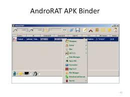 androrat apk binder actualidad malware en android detección y otros temas