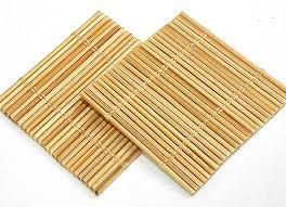 table mats and coasters kuruvilla sons bamboo table mats and coasters