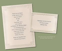 celtic design wedding invitations 14380