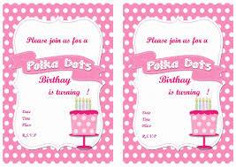polka dots invitations polka dots birthday invitations birthday printable