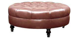 Large Tufted Leather Ottoman Tufted Leather Ottoman Holidaysale Club