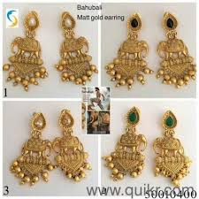 ear ring photo new bahubali 2 earring jewellery brand jewellery masakali