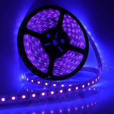 5m 16ft led waterproof ultraviolet purple black light strip 5050