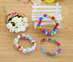 bracelet bead sets images Diy bracelet plastic acrylic bead kit accessories girl toys mixed jpg