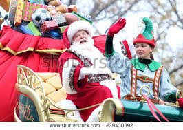 Thanksgiving In New York City 2014 Santa Claus Parade Stock Images Royalty Free Images U0026 Vectors
