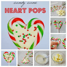 how to make candy cane heart pops pictures photos and images for