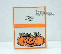 stampin u0027 up jar of haunts halloween pumpkin card youtube