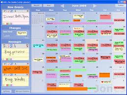 Wall Calendar Organizer System Ubicomp 2006 Conference Program