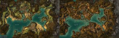Caledon Forest Map Gw2 Maps 2012 2014 By Guildwars 2 On Deviantart