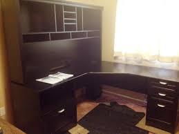walnut corner computer desk furniture corner armoire desk thin corner desk l shaped desk