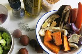 How To Make Roasted Vegetables by Turn Your Thanksgiving Leftovers Into A Healthy Veggie Bowl