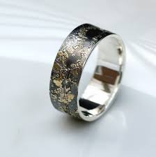 rustic mens wedding bands gold chaos 8 mm rei jewellery