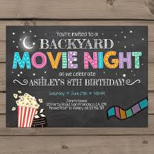 Backyard Movie Night Best 25 Backyard Movie Party Ideas On Pinterest Outdoor Movie