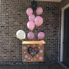 balloons in a box gender reveal 33 best gender reveals images on gender reveal box