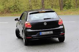 volkswagen polo 2018 volkswagen polo spied without any camouflage looks like a