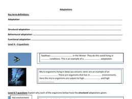 gcse biology new spec ecology unit for foundation and higher