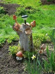 25 ideas to recycle tree stumps for garden and yard decorations
