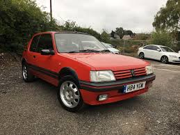 peugeot little car used peugeot 205 cars for sale motors co uk