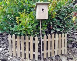 buy furniture for dolls the fence and birdhouse for miniature