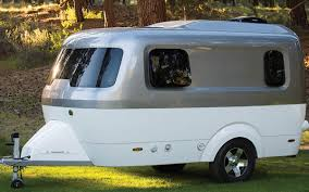mini camper van airstream u0027s nest caravans trailers are small and towable insidehook