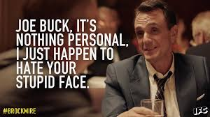 Joe Buck Meme - brockmire on twitter nothing personal joe buck brockmire