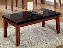 granite top end tables black granite coffee table coffee tables