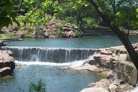 Oklahoma waterfalls images Waterfall at medicine park oklahoma by txangelhugs photo jpg