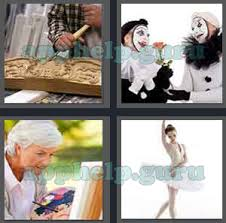4 pics 1 word level 2901 to 3000 3 letters picture 2957 answer