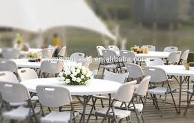 Outdoor Wedding Furniture Rental by White Garden Folding Chairs Plastic Wedding Party Rental Chair