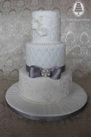 white wedding cake white and silver wedding cake idea in 2017 wedding