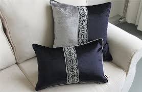 coussin canapé 60x60 l europe 45 50 60x60 gris foncé velours oreillers de luxe patchwork