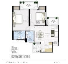Mandir Floor Plan by Panchsheel Group U2013 Greens Ii