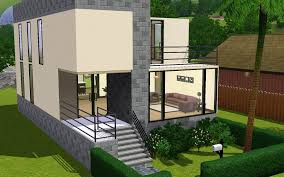 sims 3 small modern house layout best house design nice sims 3