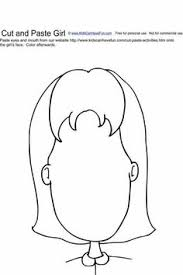 cut and paste boy face activity cut and paste worksheets