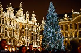 Christmas Tree Pictures 2014 Christmas 2014 In Brussels Belgium Photocory