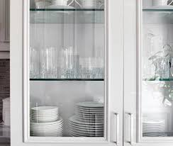 Designer Kitchens Glassfront Cabinets Simplified Bee - Glass cabinets for kitchen