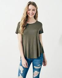 shoulder blouse tops and shirts hollister co