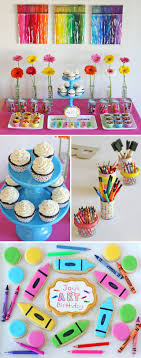 Rainbow Themed Birthday Favors by Best 25 Themed Ideas On Paint Birthday