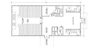 Simple Small Church Floor Plans Church Building Floor Plans by Commercial Steel Buildings General Steel