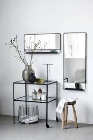 spiegel fã r flur servierwagen trolley use matt schwarz house doctor 249 00