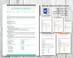 Resume Templates Word Format 237 Best Microsoft Word Resume Templates Images On Pinterest