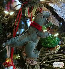 Dinosaur Christmas Decoration by Handmade Magnolia U0026 Gilded Pinecone Christmas Garland Atta Says
