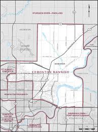 Map Of Edmonton Canada by Edmonton Manning Maps Corner Elections Canada Online