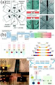 droplet microfluidics for synthetic biology lab on a chip rsc