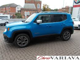 jeep renegade dark blue used 2016 jeep renegade m jet limited 9 speed auto 4x4 for sale in