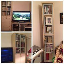 Tv Stands With Bookshelves by Ikea Tv Stand Ebay