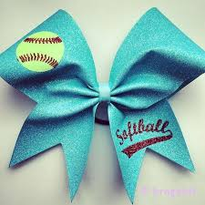 softball bows softball bow light turquoise glitter softball bow with glitter