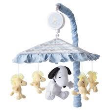 Snoopy Nursery Decor Peanuts Musical Mobile My Snoopy Target