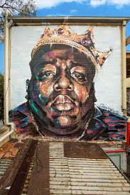 the illest biggie smalls murals in the world and the artists who this piece was commissioned by the hotel owner a biggie fan who had admired iconic biggie portrait murals on visits to nyc