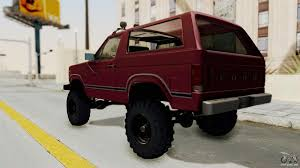 ford lifted ford bronco 1985 lifted for gta san andreas